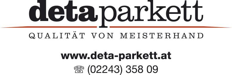 Logo deta parkett GmbH.