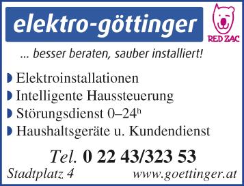 Logo elektro-göttinger